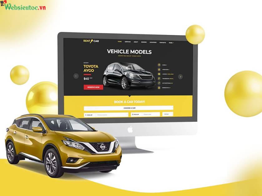 dịch vụ thiết kế web ô tô chuyên nghiệp