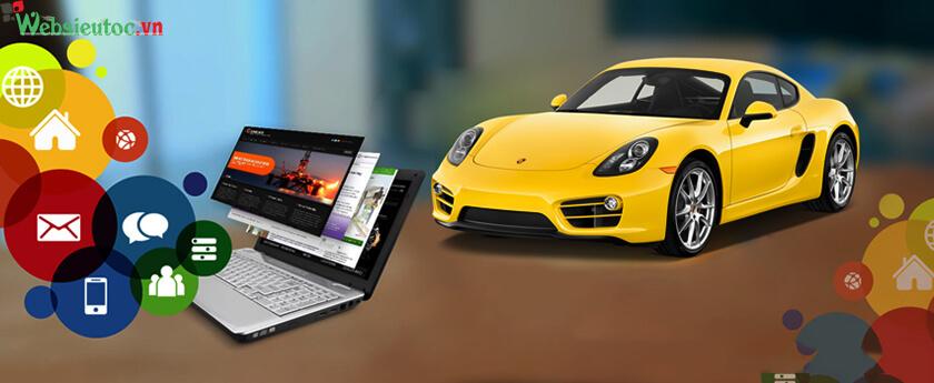 tại sao cần thiết kế website bán ô tô