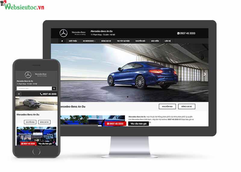 website ô tô đẹp