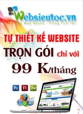Thiết kế web 99k