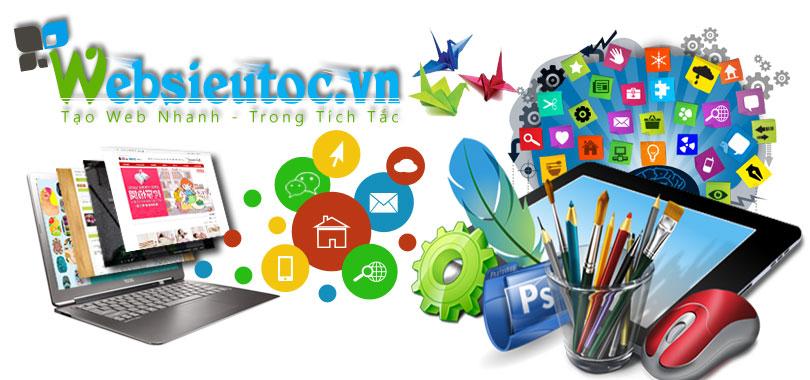 thiết kế website chuyên nghiệp uy tín hàng đầu tại Việt Nam - Websieutoc.VN