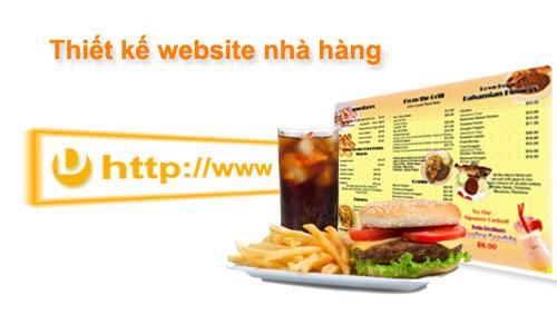 Websieutoc.VN - Thiết kế website Nhà hàng - Quán Ăn