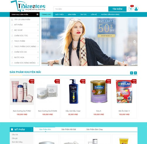 Mẫu web thời trang 18