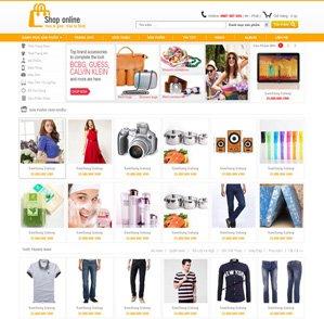 Mẫu web thời trang 09