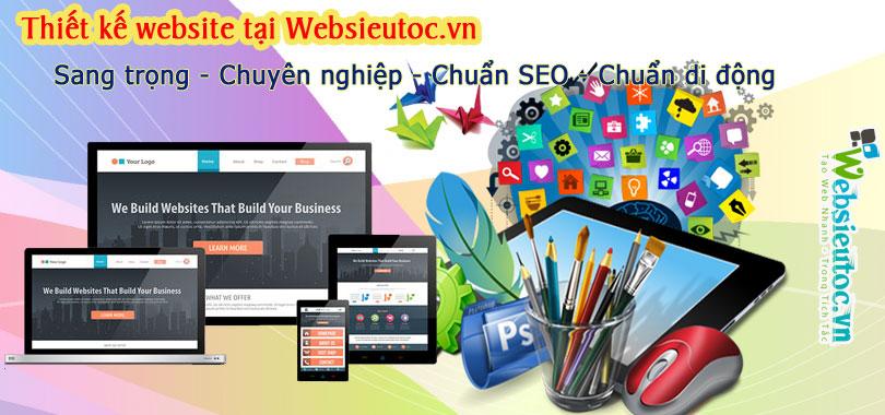 Thiết kế website Quảng cáo - Rao vặt
