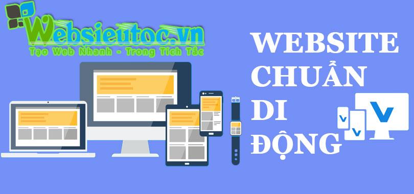 Thiết kế web chuẩn điện thoại